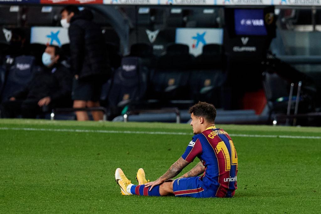 Barcas endelige beslutning: Coutinho skal væk