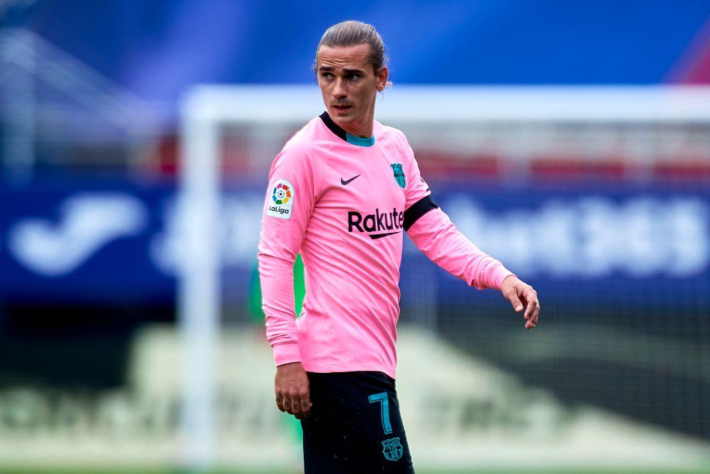 Griezmann deler stor nyhed med Barca-holdkammerater