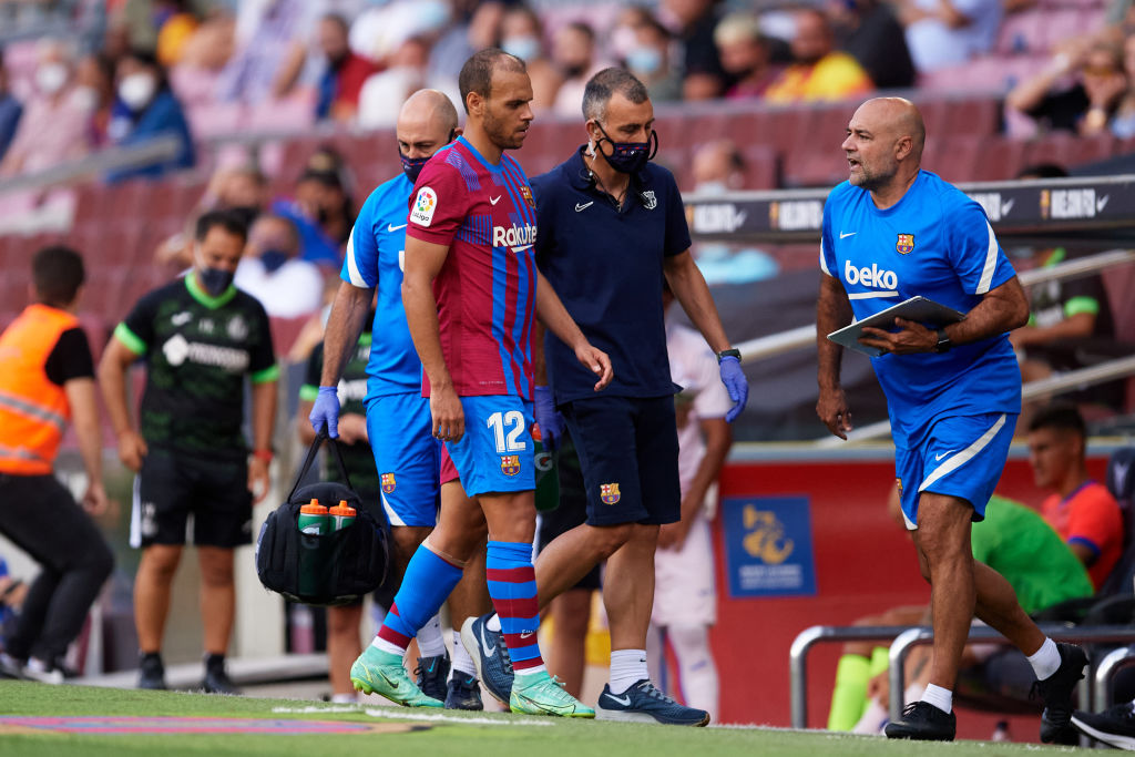 Flere skader i Barcelona: Braithwaite og Roberto måtte udgå